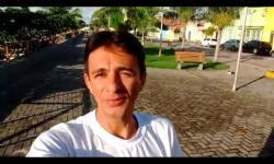 Repórter Núbio Araújo cobra início das obras  na orla lagunar