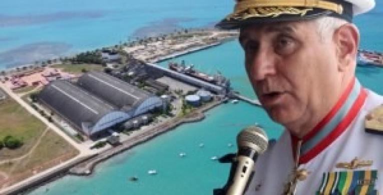PÉSSIMA ADMINISTRAÇÃO: Almirante neófito e irresponsável deixa o Porto de Maceió em estado deplorável!