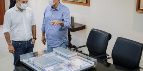 Governador apresenta maquete de CISP que será construído em Maceió e Arapiraca