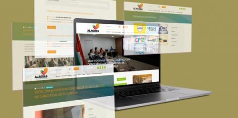 A partir de 14/07: novo portal do Governo de Alagoas passa a abrigar informações e serviços em plataforma multimídia