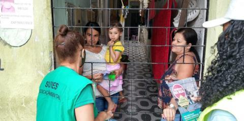 Prefeitura realiza ação de educação ambiental na Grota do Cigano, no Jacintinho