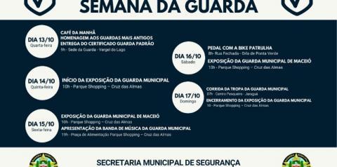 Segurança Comunitária tem programação especial para comemorar o Dia da Guarda Municipal