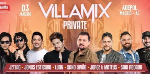 Show está marcado para o dia 3 de janeiro às 21h. Comandam a festa ainda Jonas Esticado, Saia Rodada e Jetlag.