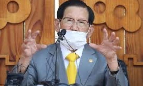 Líder religioso é preso na Coreia por sabotar esforços contra a covid-19