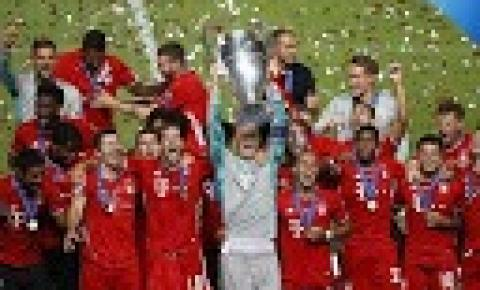 Bayern acaba com sonho do PSG e conquista Champions League pela 6ª vez