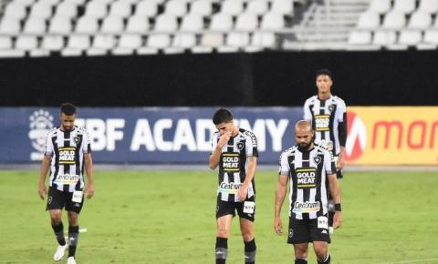 Botafogo perde para o Sport e está rebaixado para a Série B do Brasileirão