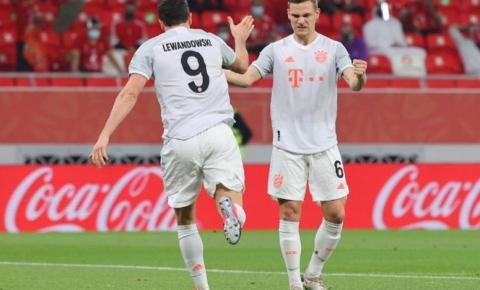 Com gols de Lewandowski, Bayern vence o AL-Ahly e está na final do Mundial de Clubes