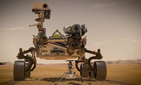 Robô Perseverance da Nasa pousa em Marte após sete meses de viagem