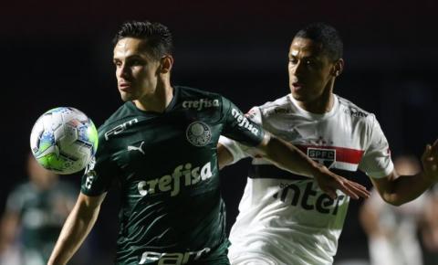 Palmeiras empata nos acréscimos e encerra sonho de título do São Paulo