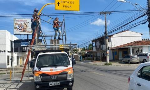 Caso Braskem: Em Maceió, Defesa Civil sinaliza rotas de fuga em bairros afetados pela mineração de sal-gema