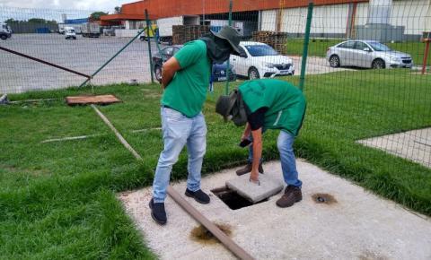Prefeitura intensifica fiscalização de estações de esgoto em estabelecimentos comerciais