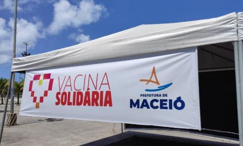 Vacina solidária: Maceió lança campanha de arrecadação de alimentos e itens de higiene pessoal