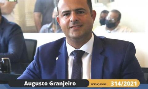 Marechal: Vereador Augusto tem indicação aprovada