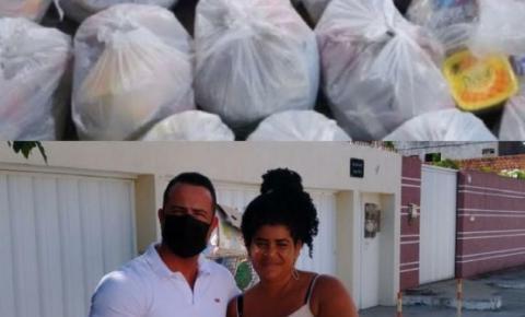Solidariedade: Vereador Augusto Granjeiro ajuda 130 famílias em Marechal