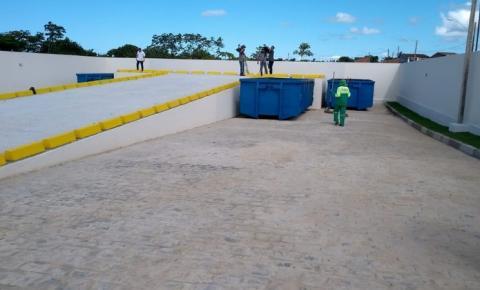 Ecopontos são alternativa à população para fazer o descarte correto de resíduos