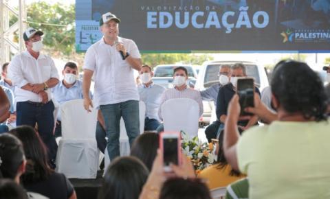 GOVERNO DE AL ANUNCIA RECUPERAÇÃO DE ACESSO VIÁRIO E CONSTRUÇÃO DE CRECHE EM PALESTINA