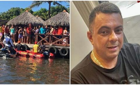 Corpo de dono do restaurante 'Sal e Brasa' é encontrado após queda de lancha no Maranhão