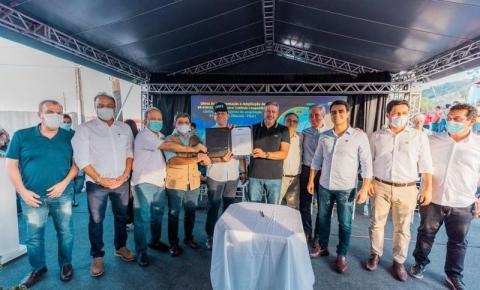 Emendas de JHC garantem conclusão das obras da BR-416, que liga Ibateguara a Colônia Leopoldina