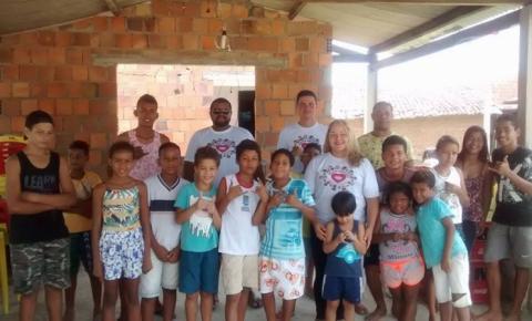 Projeto Ação Social  oferece aulas de capoeira para crianças