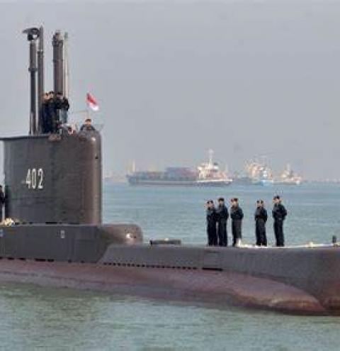 53 tripulantes morrem em Submarino indonésio que estava desaparecido