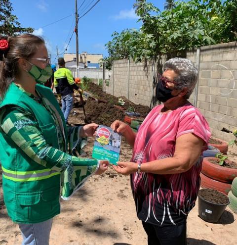 Em dois meses, educação ambiental da Prefeitura orientou mais de 8 mil pessoas