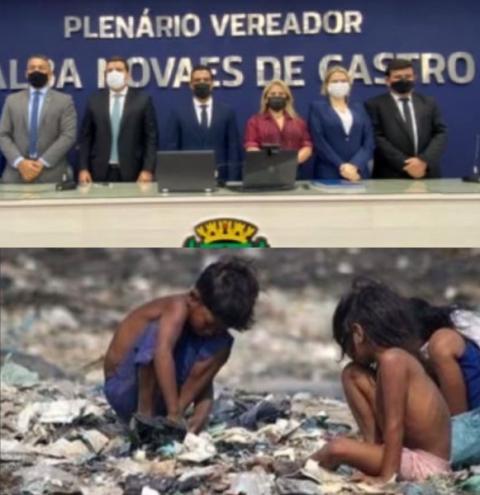 Enquanto crianças passam fome VEREADORES torrarão MILHÕES com aluguel de CARROS de LUXO